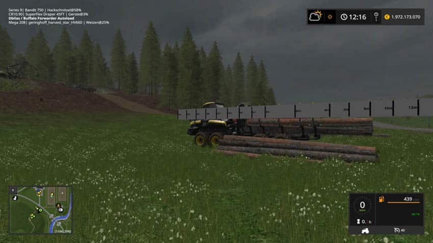 Ponsse Buffalo with autoload and loading aid V 1.1 [MP]