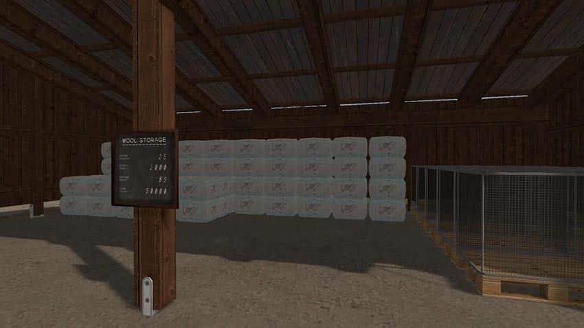 Wool Storage v 1.0