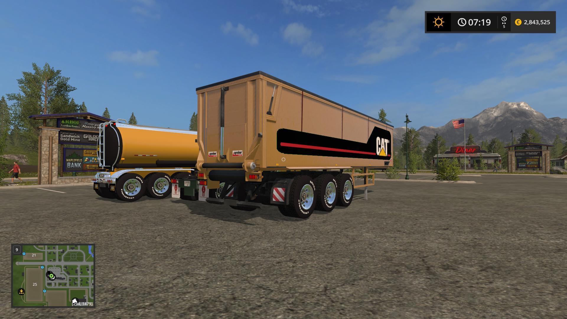 Big Trailers + Truck v1.0