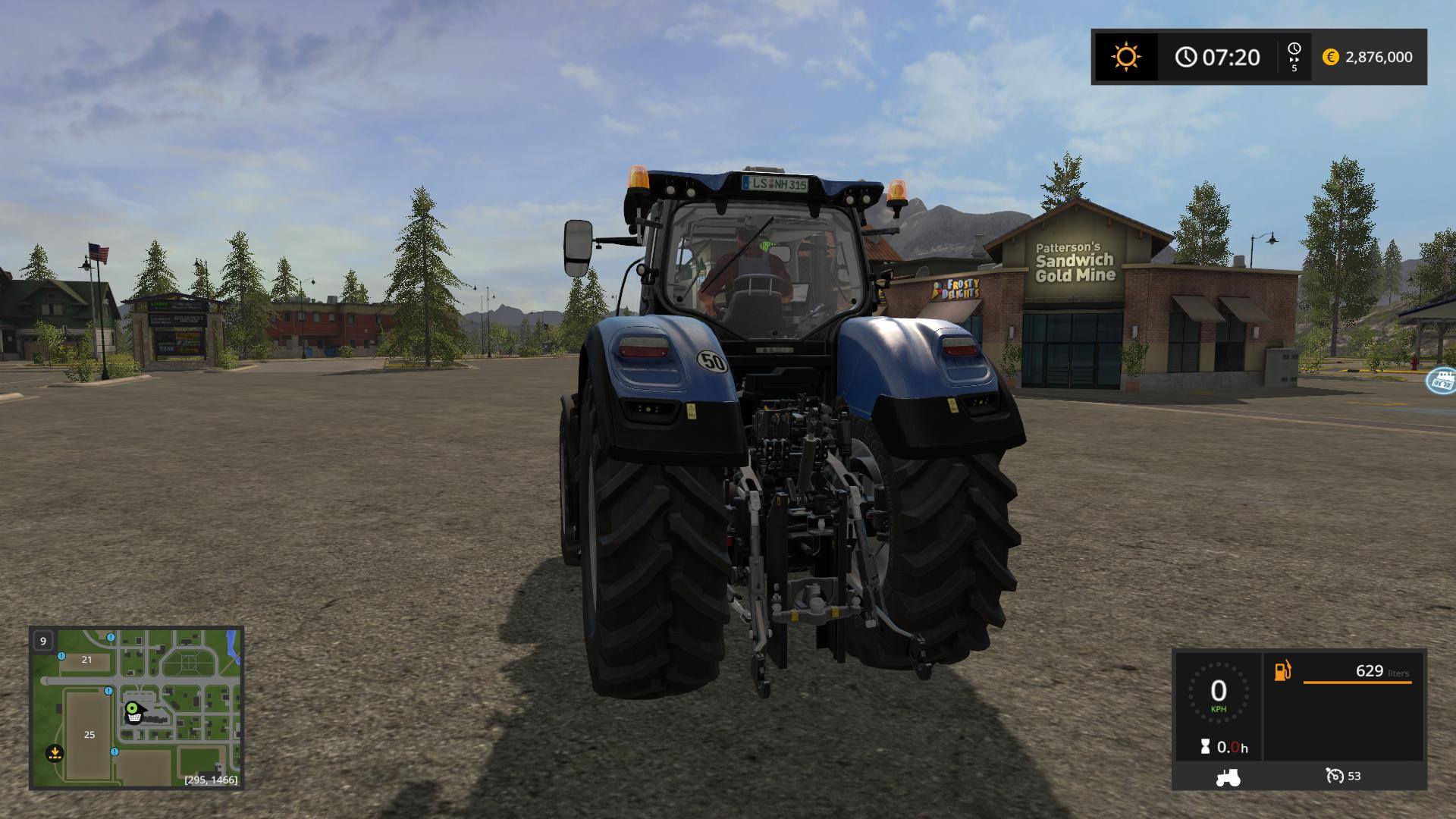 New Holland T7 HD Series v1.0