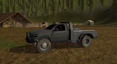 2008 Dodge Ram Flatbed edit FS17 - FS 2017 Mod