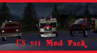 911 PACK V1 0 FS17 - FS 2017 Mod