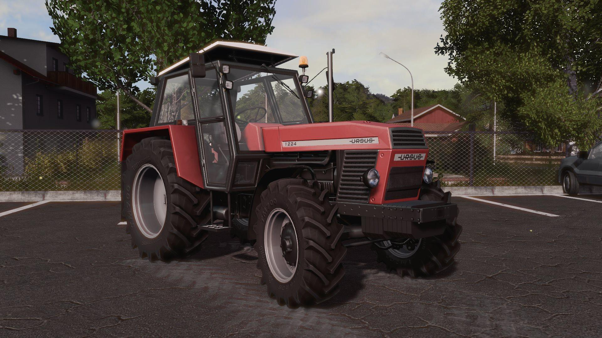 Ls Tractor Seat Replacements : Ursus v fs mod